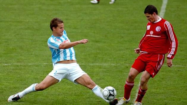 Fotbal II. liga: Čáslav - Třinec, 11. 4. 2010