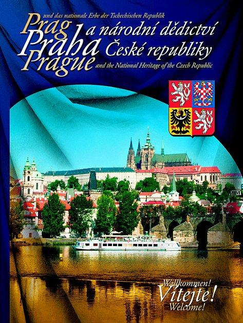 Kniha s názvem Skvosty hlavního města i celé republiky na 624 stranách.