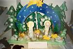 Dům dětí a mládeže v Čáslavi uspořádal soutěžní výstavu betlémů.