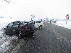 U Suchdola došlo k vážné dopravní nehodě.