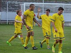 Finále Poháru OFS vyhrály Nové Dvory 2:1 nad Sedlcem.