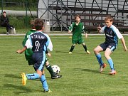 Z finálového turnaje soutěže meziokresních výběrů kategorie U11 v Horních Počaplech na Mělnicku.
