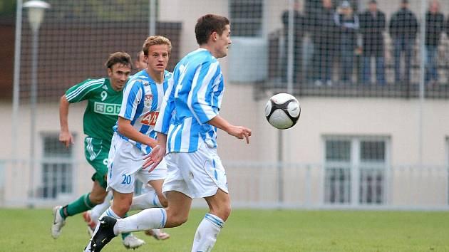 12. kolo II. ligy: Čáslav - Karviná, 17. října 2010.