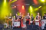 Bubenická show Groove Army a Klára Vytisková v zahradách GASKu