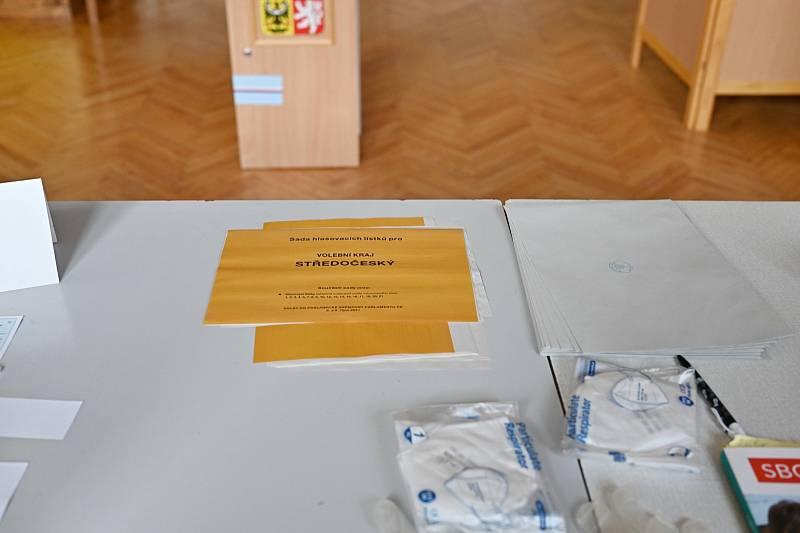 Parlamentní volby v Uhlířských Janovicích.