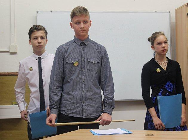 Žáci představili svoji prezentaci odpočinkové zóny