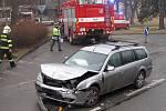 Dopravní nehoda na Kaňku.