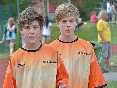 Městské hry v Kutné Hoře, utkání ve fotbale na Sokoláku - 13.června 2014
