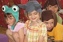 Z dětské besídky v kutnohorské Mateřské škole v Benešově ulici, třída Jablíčko.