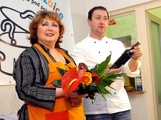 Vaření v Mozaice s Naďou Konvalinkovou