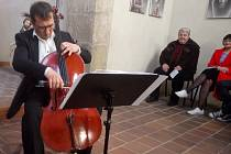 Jarní koncert s překvapením v horní kapli kostela Všech svatých s kostnicí v kutnohorském Sedlci.