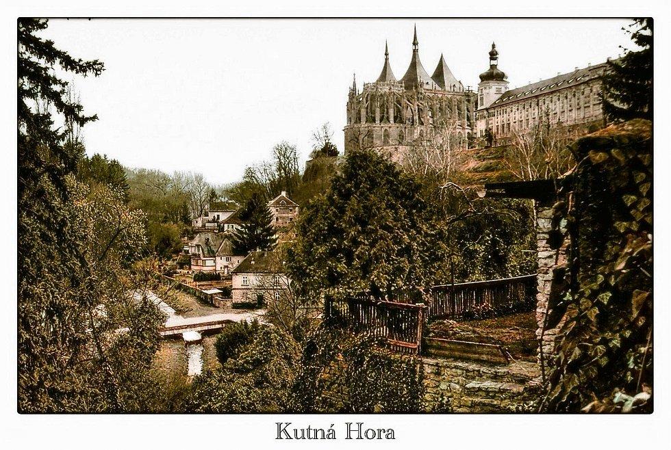 Retrospektivní pohled na Kutnou Horu.