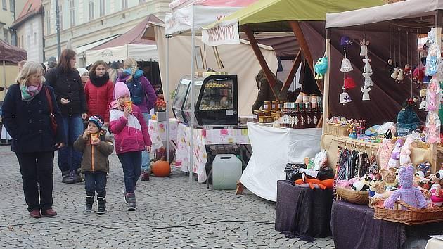 Svatomartinské trhy na Palackého náměstí