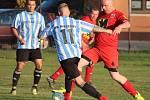 Fotbalová IV. třída, skupina B: TJ Sokol Červené Janovice B - SK Malešov B 0:12 (0:4).