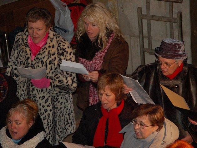 Česká mše vánoční v chrámu svaté Barbory v Kutné Hoře se pro zpívající Jitku Molavcovou stala úžasným zážitkem.