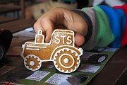 Z výstavy historických traktorů v Kralicích u Chlístovic.