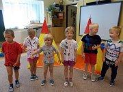 Indiánský týden zažily děti v mateřské škole.