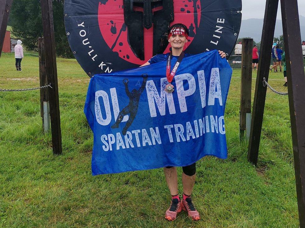 Olympia Spartan Training Kutná Hora v Liberci. Na snímku Petra Prchalová.