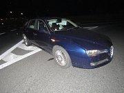 Řidič osobního vozidla naboural, naměřili mu 1,62 promile alkoholu.