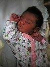 Zoe Štěpánová se narodila 9. března. Vážila 2860 gramů a měřila 49 centimetrů. Doma v Čáslavi ji přivítali maminka Nikol, tatínek Ondřej a dvouletá sestřička Emmička.