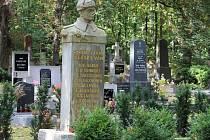 Hřbitov u kostela Nejsvětější Trojice v Kutné Hoře.