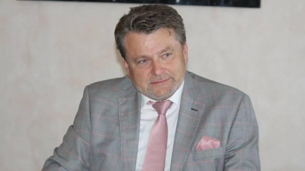 Ředitel Městské nemocnice v Čáslavi Rudolf Bubla.