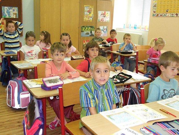 Ve třídě I. B na Základní škole Masarykova v Čáslavi.