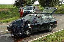 Dopravní nehoda u Církvice