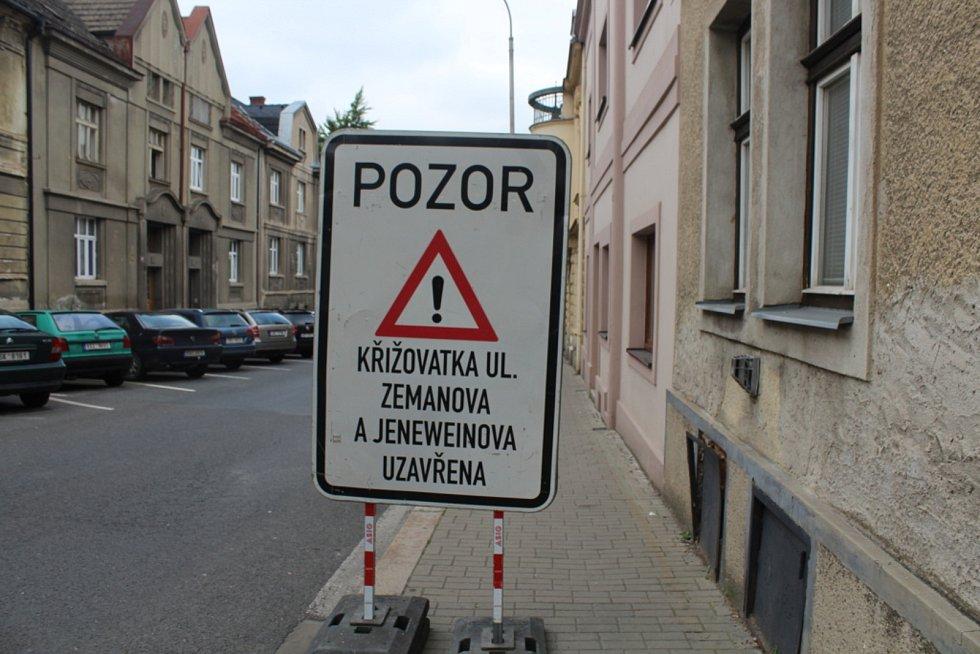 Uzavírky na Kutnohorsku.