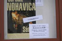 V Čáslavi bylo vyprodáno během tří dnů.