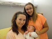 Sofia Poppeová se poprvé rozkřičela 31.srpna v Čáslavi. Po narození se mohla pyšnit váhou 3920 gramů a mírou 53 centimetrů. Domů do Kutné Hory si ho odvezli šťastní rodiče Jitka a Radan a sourozenci Radan a Jitka.