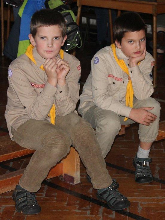 Mikulášská besídka Skautů v Kutné Hoře 5. prosince 2015