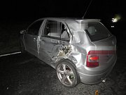 Při nehodě v Košicích nebyl naštěstí nikdo těžce zraněn.
