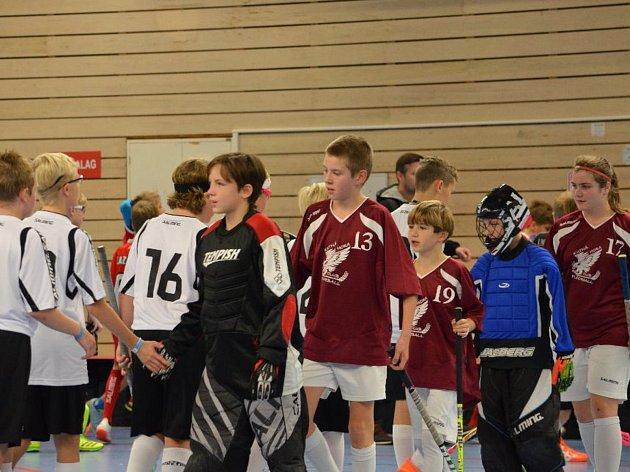 Tým mladších žáků FBC Kutná Hora hrál na turnaji ve Švédsku.