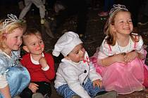 Dětský karneval v Křeseticích.