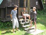Na táboře ve Zbraslavicích mají veselo.