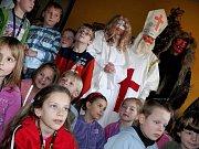 Mikulášská besídka v mateřské škole v Benešově ulici