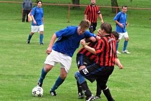 Fotbalové utkání. Ilustrační foto