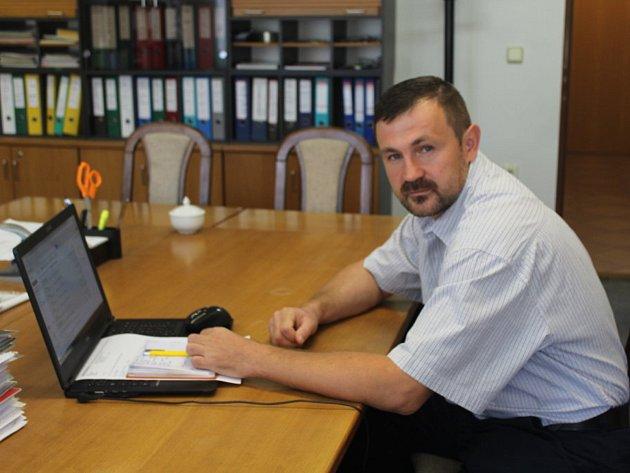 Jednatel společnosti KH Tebis Tomáš Pilc.