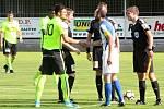 První kolo českého fotbalového poháru MOL Cupu: FK Čáslav - 1. FK Příbram 1:2 (0:2).