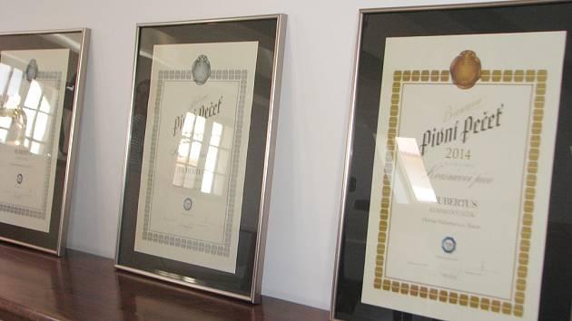 Ocenění pivovaru v Kácově získaná na pivních slavnostech v Táboře