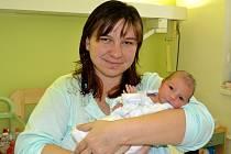 Natálie Lajgnerová se narodila 26. listopadu v Kolíně. Měřila 48 centimetrů a vážila 2900 gramů. Maminka Lucie a tatínek Luboš si ji odvezli do Chmeliště.