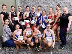 Kutnohorské twirlerky slaví úspěchy na všech frontách.