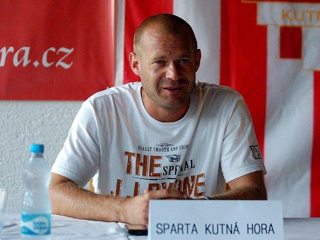 Radim Truksa, trenér Kutné Hory.