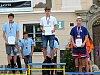 Ze slavnostního vyhlašování vítězů třetího dne Městských her 8. olympiády dětí a mládeže na Palackého náměstí v Kutné Hoře.