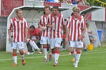 Kutná Hora - Viktoria Žižkov 0:7 (0:2), 26. července 2014.