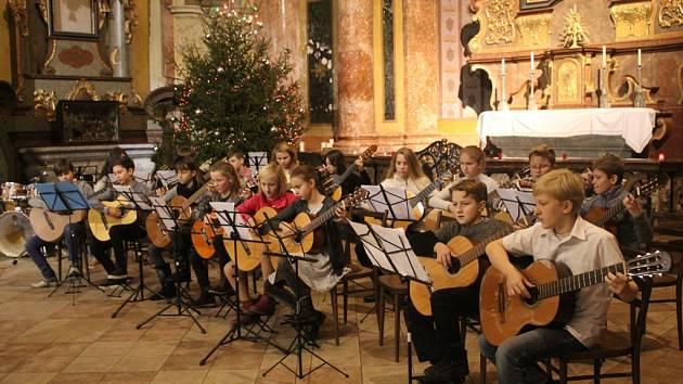 Vánoční koncert ZUŠ Kutná Hora