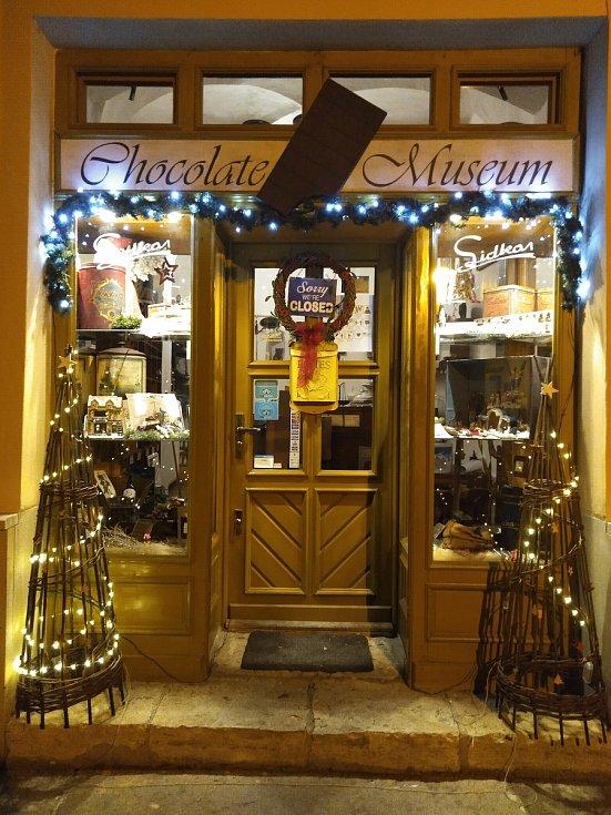 Čokoládové muzeum v Kutné Hoře.