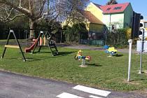 Veřejně přístupný areál Domu dětí a mládeže v Kutné Hoře.