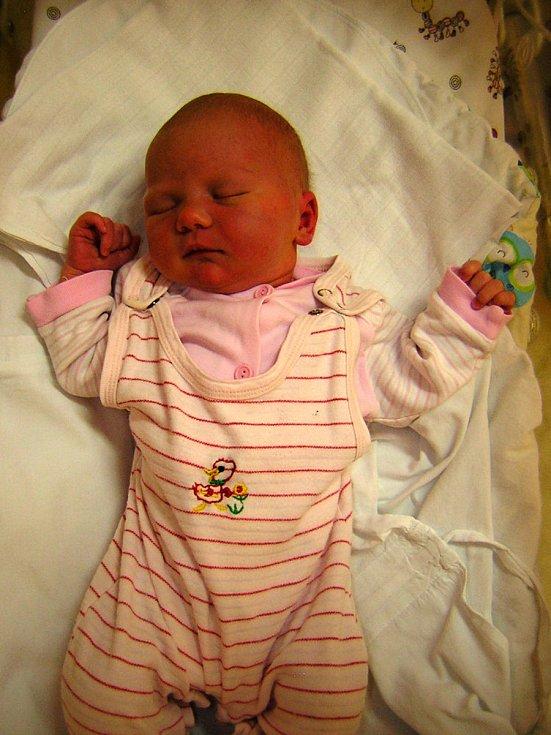 Sofie Houserová se narodila 20. listopadu 2018 v 19.36 hodin v čáslavské porodnici. Vážila 4170 gramů a měřila 53 centimetrů. Doma v Čáslavi se na ni těší maminka Iveta, tatínek Miroslav a jedenáctiletý bráška Felix.